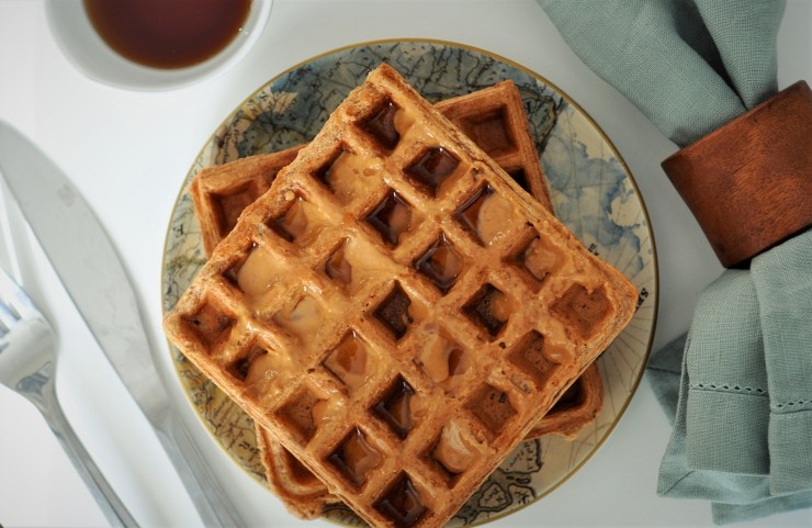 ... Recap and Whole Wheat Peanut Butter Waffles – Running With Veggies